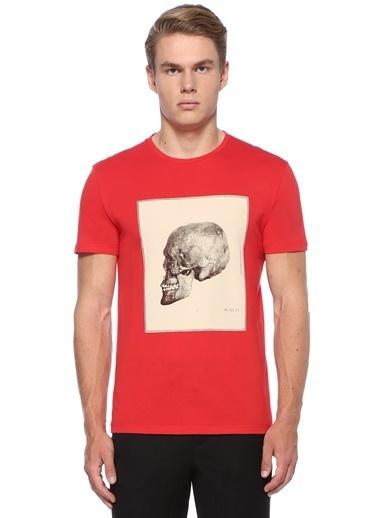 Alexander McQueen Tişört Kırmızı